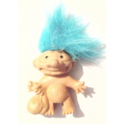 Troll cheveux turquoise