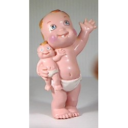 Figurine Magic babies : n° 6 Baby Coucou