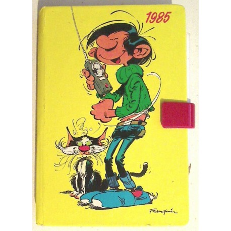 Ancien agenda 1985 : Gaston Lagaffe