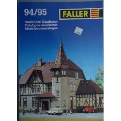Catalogue Faller 1994 - 95 HO + N + Z