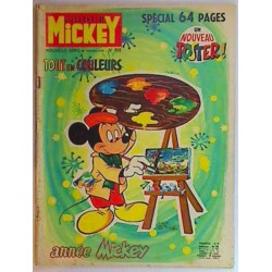 Journal de Mickey n° 938 + poster 7/6/70