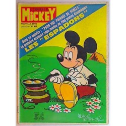Journal de Mickey n° 989 + pub Esso du 30/5/71