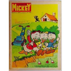 Journal de Mickey n° 1059 + pub Esso Glup's
