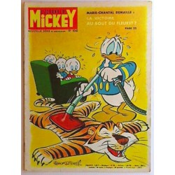 Journal de Mickey n° 1040 + pub Michelin