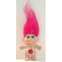 Figurine Troll, cheveux rouges