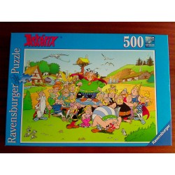 puzzle Asterix le village