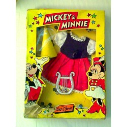 MICKEY et MINNIE  :  Panoplie princesse
