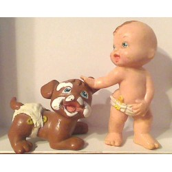 Figurine Magic babies : Complices, Les Bavards