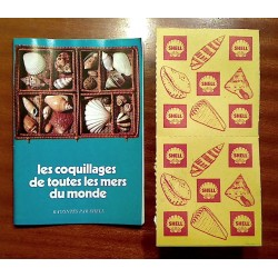 Coquillages Station SHELL + Livret - 1961